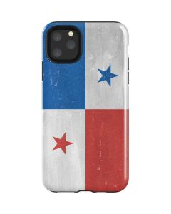 Panama Flag Distressed iPhone 11 Pro Max Impact Case