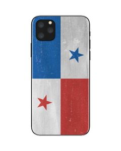 Panama Flag Distressed iPhone 11 Pro Max Skin