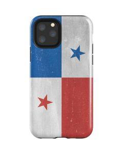 Panama Flag Distressed iPhone 11 Pro Impact Case
