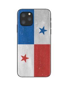 Panama Flag Distressed iPhone 11 Pro Skin
