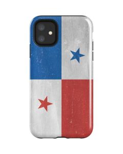 Panama Flag Distressed iPhone 11 Impact Case