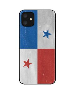 Panama Flag Distressed iPhone 11 Skin