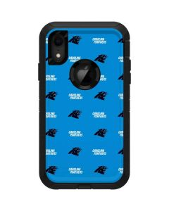 Carolina Panthers Blitz Series Otterbox Defender iPhone Skin