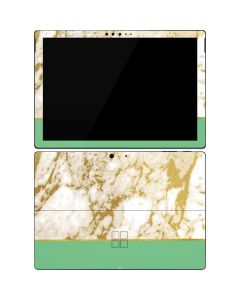 Pastel Marble Surface Pro 7 Skin