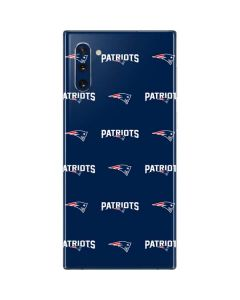 New England Patriots Blitz Series Galaxy Note 10 Skin