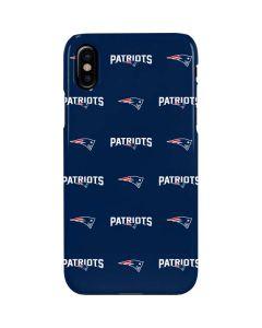 New England Patriots Blitz Series iPhone XS Max Lite Case