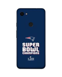 Patriots Super Bowl LIII Champions Google Pixel 3a Skin