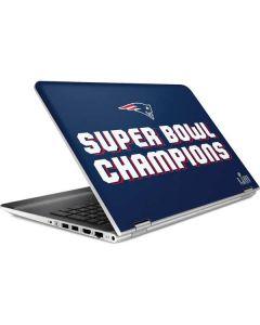 Patriots Super Bowl LIII Champions HP Pavilion Skin