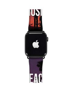 Peace Love And Music Apple Watch Band 42-44mm
