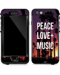 Peace Love And Music LifeProof Nuud iPhone Skin