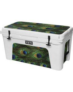 Peacock YETI Tundra 75 Hard Cooler Skin