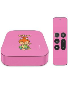Pebbles Flintstone Apple TV Skin