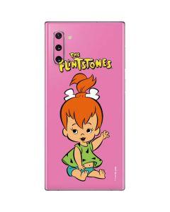Pebbles Flintstone Galaxy Note 10 Skin