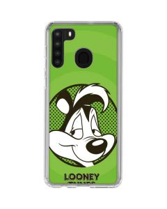 Pepe Le Pew Full Galaxy A21 Clear Case
