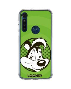 Pepe Le Pew Full Moto G8 Power Clear Case