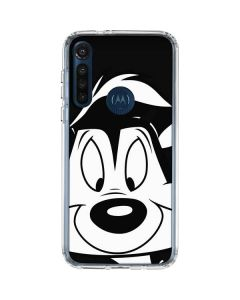 Pepe Le Pew Moto G8 Power Clear Case