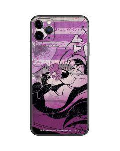 Pepe Le Pew Purple Romance iPhone 11 Pro Max Skin
