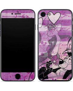 Pepe Le Pew Purple Romance iPhone SE Skin