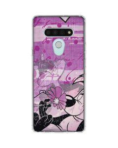 Pepe Le Pew Purple Romance LG Stylo 6 Clear Case