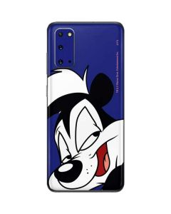 Pepe Le Pew Zoomed In Galaxy S20 Skin