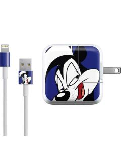 Pepe Le Pew Zoomed In iPad Charger (10W USB) Skin