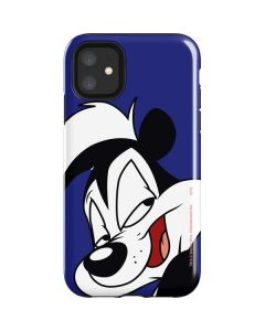 Pepe Le Pew Zoomed In iPhone 11 Impact Case
