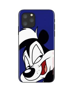 Pepe Le Pew Zoomed In iPhone 11 Pro Skin