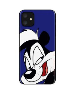 Pepe Le Pew Zoomed In iPhone 11 Skin