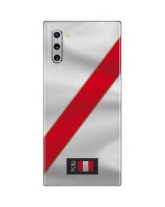 Peru Soccer Flag Galaxy Note 10 Skin