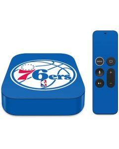 Philadelphia 76ers Large Logo Apple TV Skin