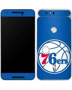 Philadelphia 76ers Large Logo Google Nexus 6P Skin