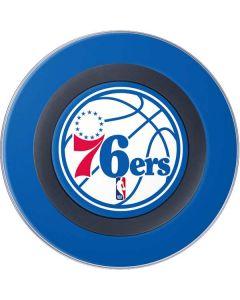 Philadelphia 76ers Large Logo Wireless Charger Skin