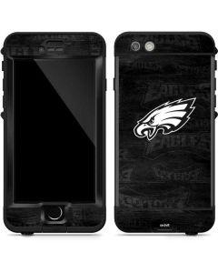 Philadelphia Eagles Black & White LifeProof Nuud iPhone Skin
