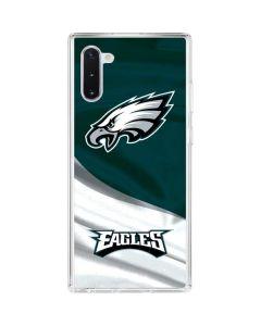 Philadelphia Eagles Galaxy Note 10 Clear Case