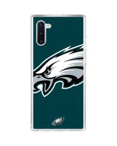 Philadelphia Eagles Large Logo Galaxy Note 10 Clear Case