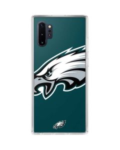 Philadelphia Eagles Large Logo Galaxy Note 10 Plus Clear Case