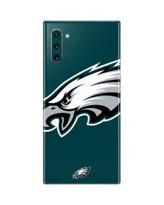 Philadelphia Eagles Large Logo Galaxy Note 10 Skin