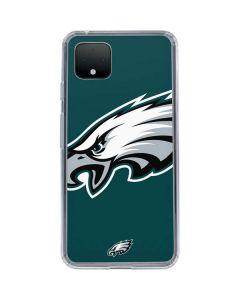 Philadelphia Eagles Large Logo Google Pixel 4 Clear Case