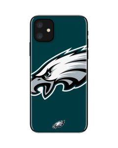 Philadelphia Eagles Large Logo iPhone 11 Skin