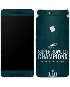 Philadelphia Eagles Super Bowl LII Champions Google Nexus 6P Skin