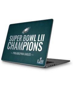 Philadelphia Eagles Super Bowl LII Champions Apple MacBook Pro 17-inch Skin