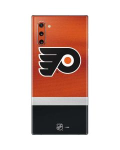Philadelphia Flyers Alternate Jersey Galaxy Note 10 Skin