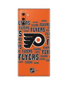 Philadelphia Flyers Blast Galaxy Note 10 Skin