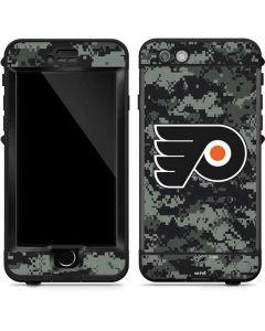 Philadelphia Flyers Camo LifeProof Nuud iPhone Skin