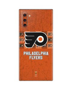 Philadelphia Flyers Design Galaxy Note 10 Skin
