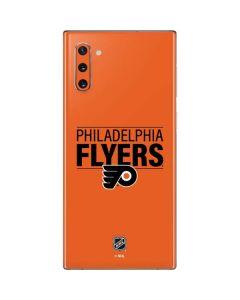 Philadelphia Flyers Lineup Galaxy Note 10 Skin