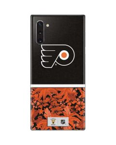 Philadelphia Flyers Retro Tropical Print Galaxy Note 10 Skin