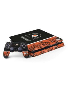 Philadelphia Flyers Retro Tropical Print PS4 Slim Bundle Skin