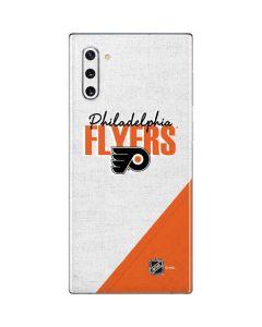 Philadelphia Flyers Script Galaxy Note 10 Skin