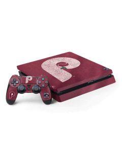 Philadelphia Phillies - Cooperstown Distressed PS4 Slim Bundle Skin